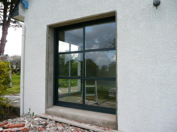 Fenetre et porte aluminium for Fenetre alu renovation prix
